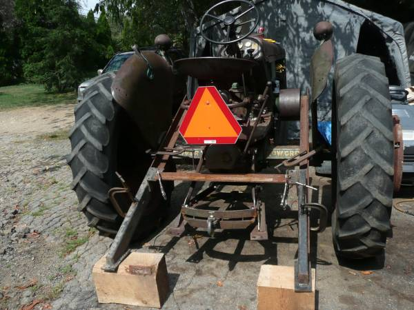 12) Oliver 77 Row Crop Tractor