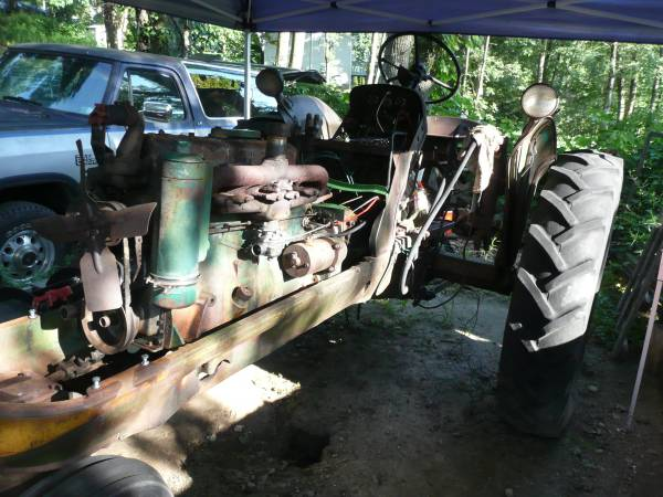 5) Oliver 77 Row Crop Tractor