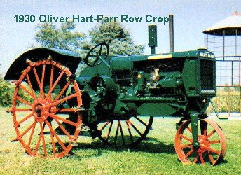 1930 Oliver/Hart-Parr 18-27 Tractor