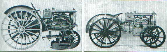 Oliver Chilled Plow Tractors Models A and B