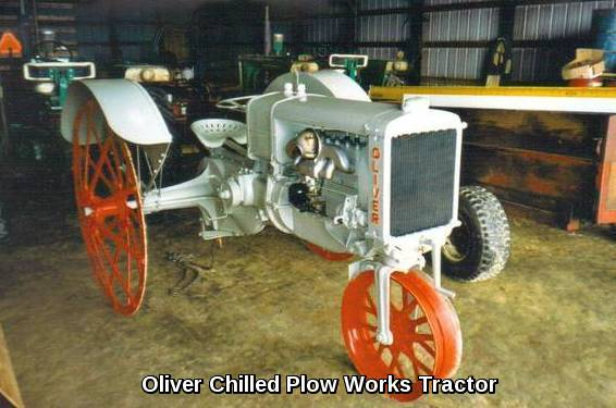 TTG Oliver Chilled Plow Tractor