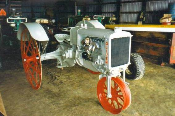 TTG Pre-1929 Oliver Chilled Plow Tractor