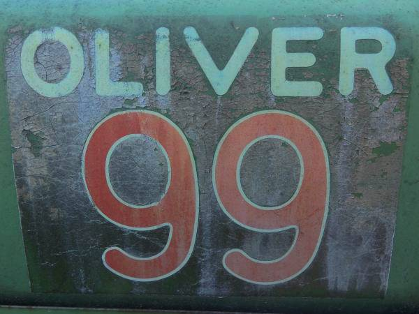 Photo of Oliver 99 Sign