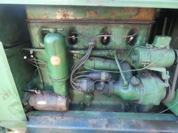 4) 1938 Oliver 99 Tractor