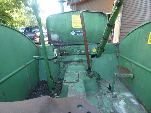 7) 1938 Oliver 99 Tractor