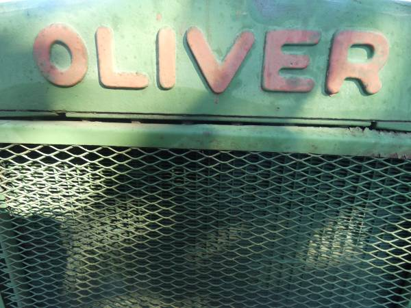 9) 1938 Oliver 99 Tractor
