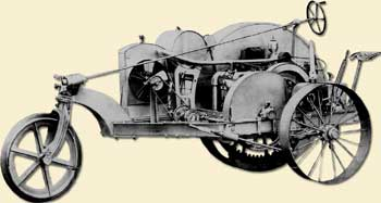 Pic of  1913 Bull Tractor