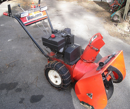 Photo of Bolens Snowthrower