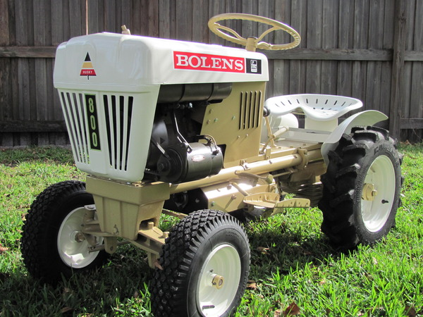 900 Bolens Garden Tractor : Front mounted sleeve hitch anyone ever attempted this