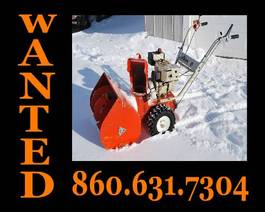 Photo of Wanted Snowblower Banner