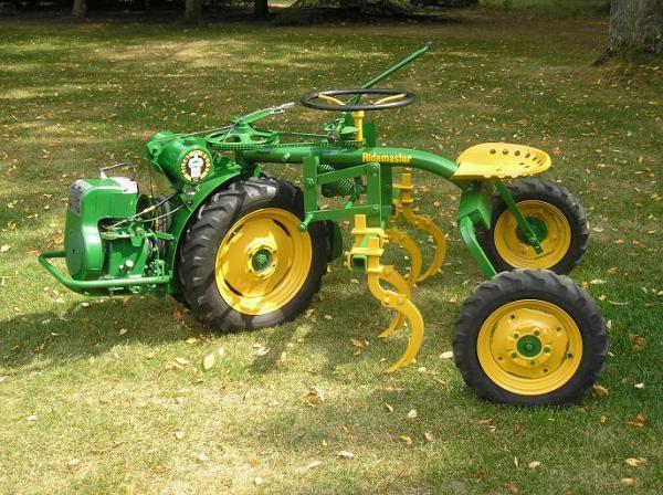 Photo of  Bolens Ridemaster Tractor