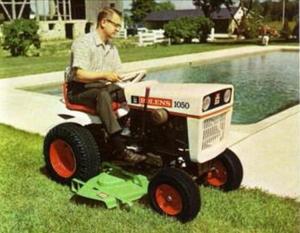Photo of Bolens 1050 Tractor