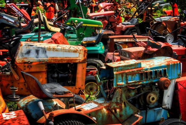 Used Tractor Parts Salvage Yards : Tractor salvage yards autos we