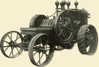 Hart Parr Ist Tractor