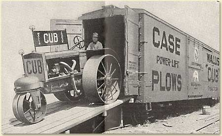 Pic of  Wallis Cub Traval Railroad Car