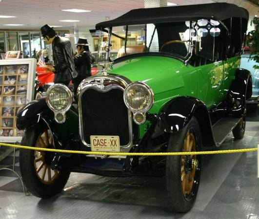 00) 1920 J.I. Case 7-Passenger Touring Car 50 hp 6 Cylinder
