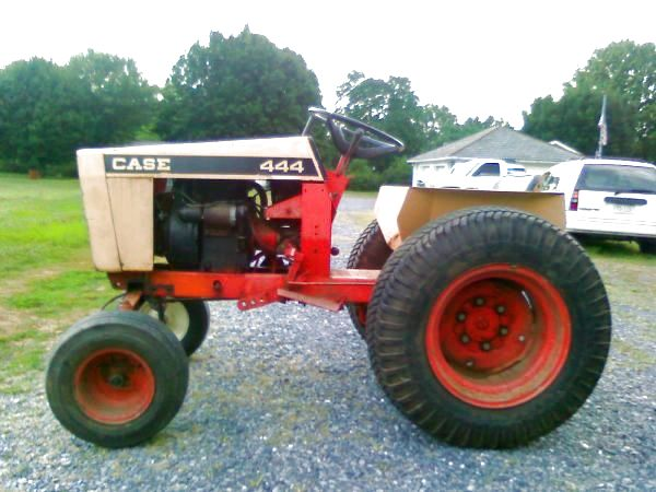 1969 Case 444 PK HyDrive Garden Tractor