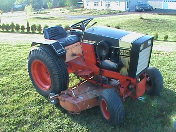 Photo 1972 Case Garden Tractor Demo
