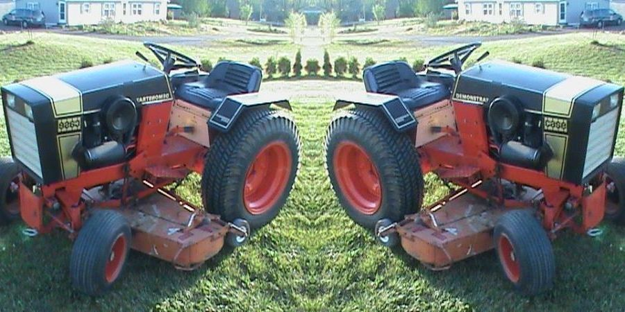 Photo of Case 444 Black Knight Tractor