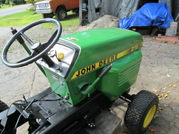 5) John Deere 216 Tractor