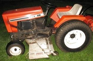1984 Case 446 Black Frame Tractor