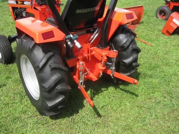 45) 2006 Ingersoll 4525K 25hp Duel Hydraulics Rear
