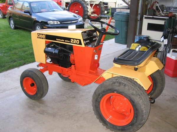 Ttg case garden tractor fever case colt ingersoll for Garden machinery for sale
