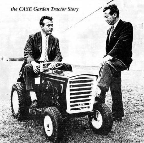 1) Warren (Left) and Wally Johnson, co-founders of Colt Industries. 1st Colt 7hp HyDrive. Photo circa 1963.