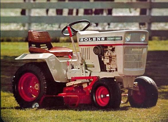 Photo of Bolens Tube-Frame Tractor