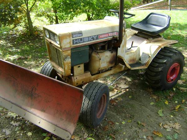 1971 bolens 1886 01 garden tractor original condition everything works purr s like a kitt n