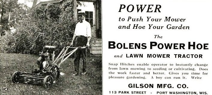 Photo of Gilson Advertisement