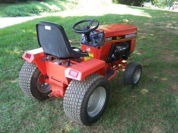 34) 1993 Ingersoll 3118-Diesel 18hp 3cly Perkins