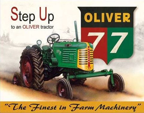 Photo of  Oliver 77 Tractor Advertisement
