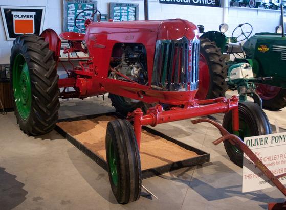 Oliver Super XO-121 Prototype Tractor