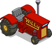 Photo of  Red Garden Tractor
