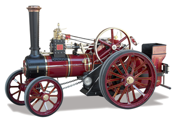 Photo of Old Steam Tractor