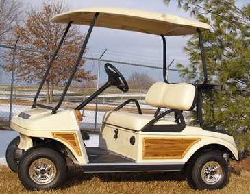 2002 YAMAHA G16A GOLF CAR | CUSTOMIZED REBUILD | TTG