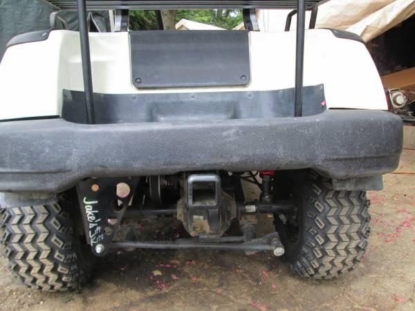 2002 YAMAHA G16A GOLF CAR CUSTOMIZED REBUILD TTG