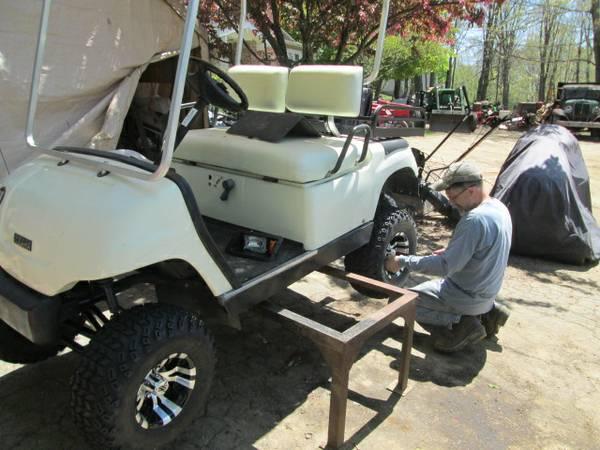 2002 yamaha g16a golf car customized rebuild ttg for Yamaha golf cart repair near me