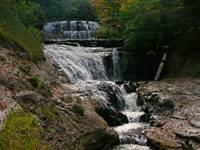 Spray Falls, Sable Falls, Chapel Falls, Wagner Falls, Miners Falls, Scott Falls, Wagner Falls, AuTrain Falls,   Alger Falls, Munising Falls, Rock River Falls,